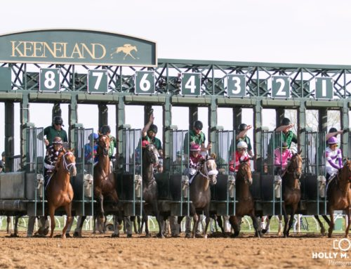 Ward Gearing Up for Keeneland's Opening Weekend