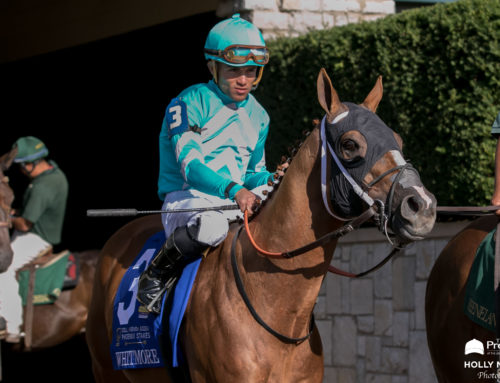 """""""Old Man"""" Whitmore Good As New Going Into Saturday's G1 Vanderbilt"""