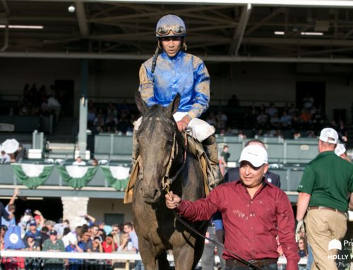 Maxfield Returns to the Work Tab at Keeneland; Return to Racing Still Undecided