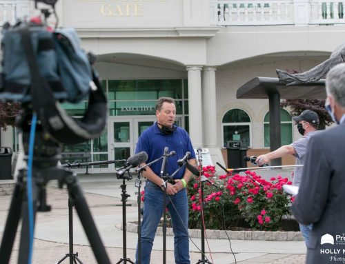 An interview with trainer T.Amoss, who will saddle Serengeti Empress in the Fleur de Lis Stakes this Saturday in a matchup with the Champ Midnight Bisou.