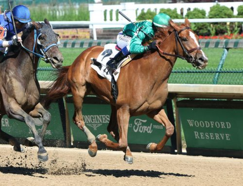 Notes & Quotes From Churchill Downs' Sunday Feature: Royal Flag