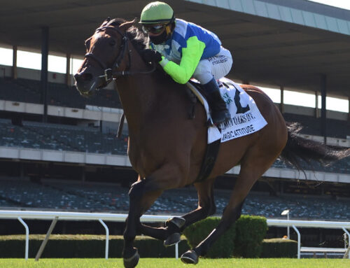 Notes & Quotes From the G1 Belmont Oaks: Magic Attitude