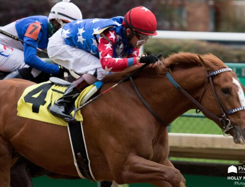 Photos, Notes & Quotes From the Street Sense Stakes; Rags to Riches Stakes: King Fury & Coach
