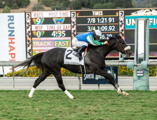 Photos, Notes & Quotes From the G2 Goldikova Stakes: Maxim Rate