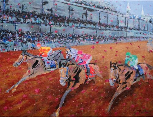 """Official Art of KY Derby"" by Ralph Fugate Is Now Available"