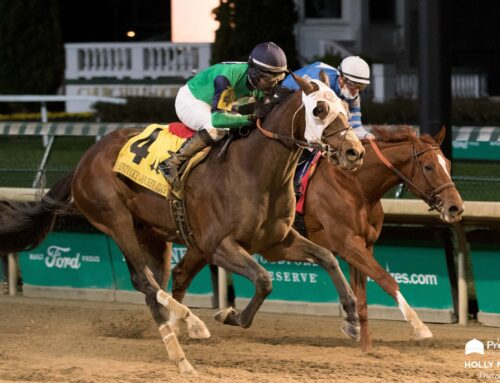 Photos, Notes & Quotes From the G2 KY Jockey Club Stakes: Keepmeinmind