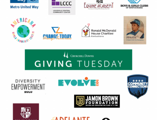 "Churchill Downs Supports Non-Profit Organizations on ""Giving Tuesday"""