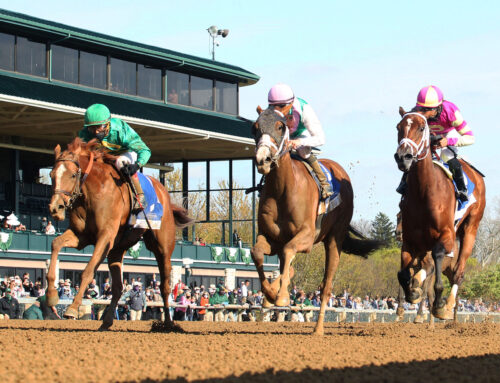 Photos, Notes & Quotes from the G3 Doubledogdare Stakes: Bonnie South