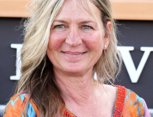Interview with Michelle Lovell, the winning trainer of the first Louisville Thoroughbred Society Stakes with Just Might