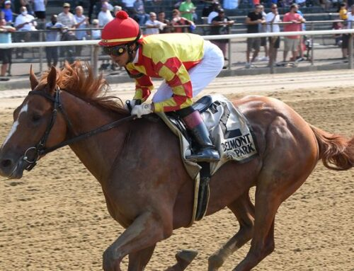 First Captain Sets Sail in Friday's Curlin Stakes at Saratoga