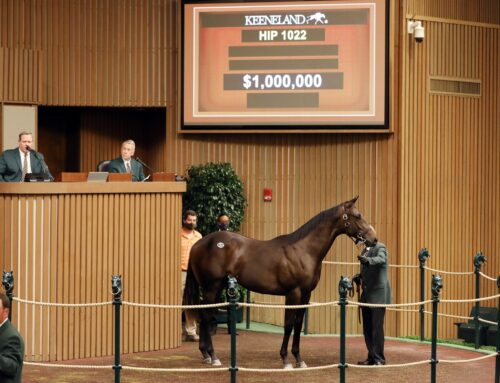 Keeneland September Yearling Sales Update: 2 $1 Million Dollar Babies Ring the Bell
